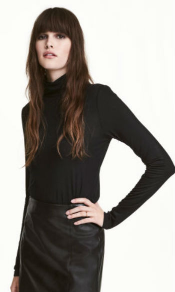 Camisola de gola alta (3,99€, H&M)