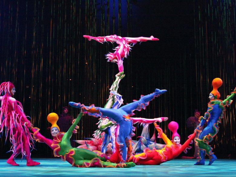 Cirque du Soleil (MEO Arena – de 5 a 15 de janeiro)