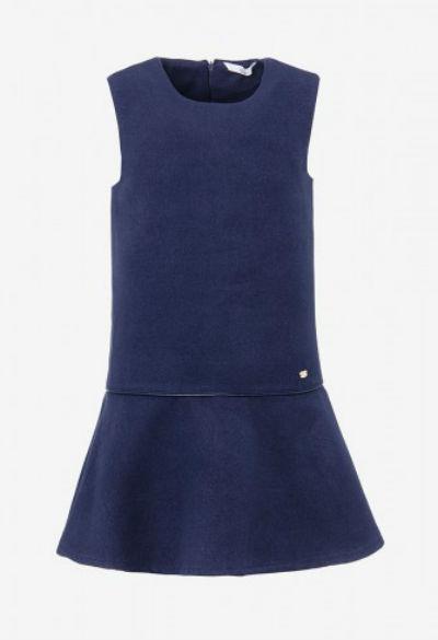 Vestido básico azul (29,99€ Tiffosi)