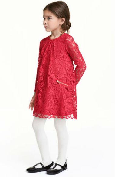 Vestido em renda (17,99€ H&M)