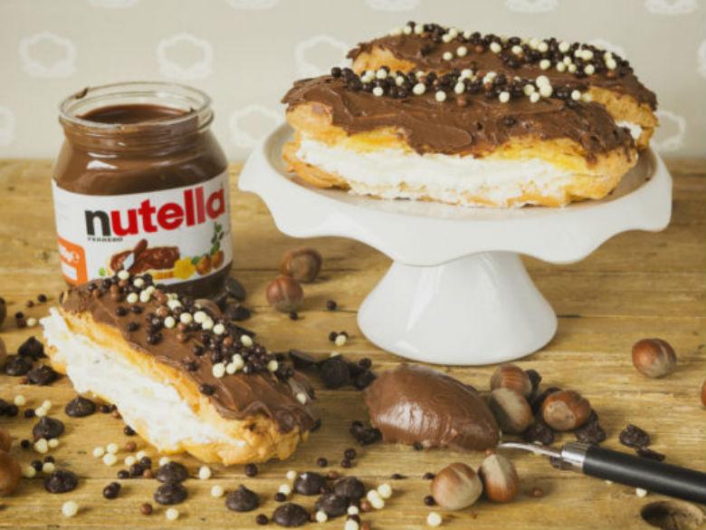 éclair Nutella