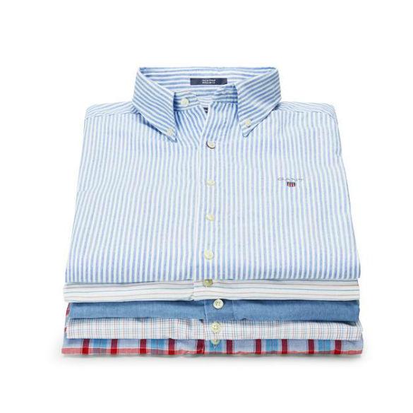 Camisa com Tech Prep (a partir de 88€, Gant)