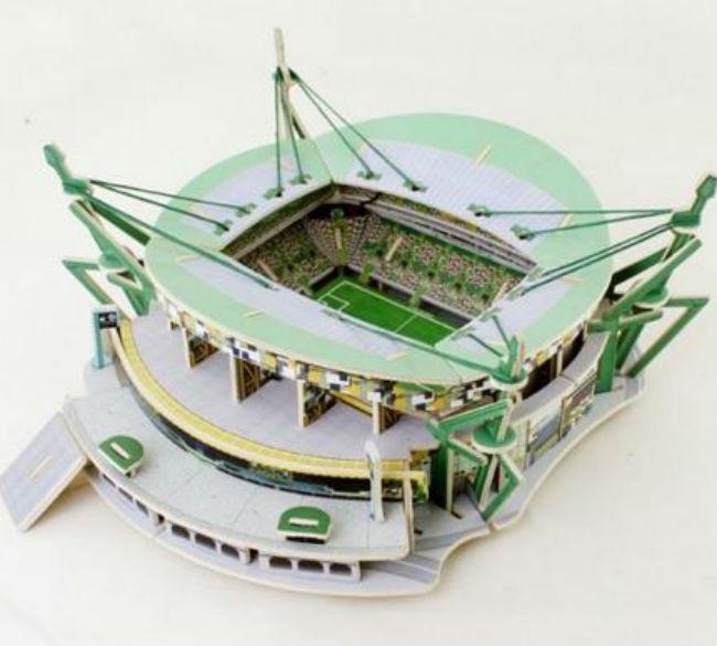 Puzzle 3D do estádio do seu clube (21,52€, Fnac)