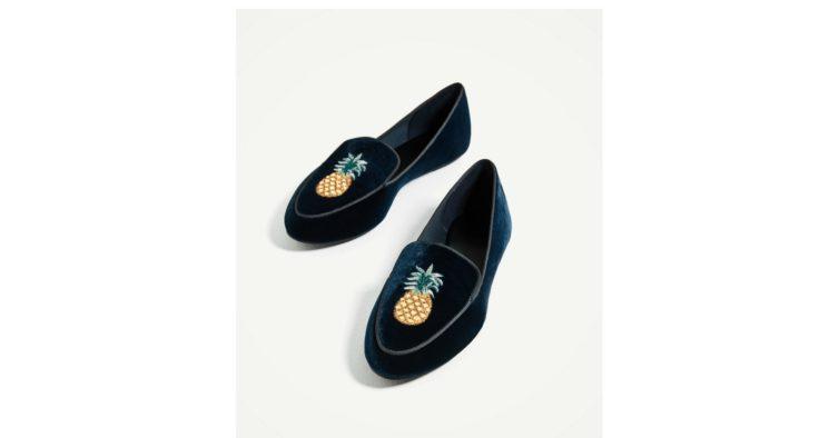 Slippers em veludo (29,95€)
