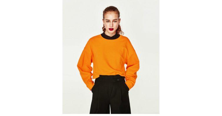 Sweatshirt crop (12,95€)
