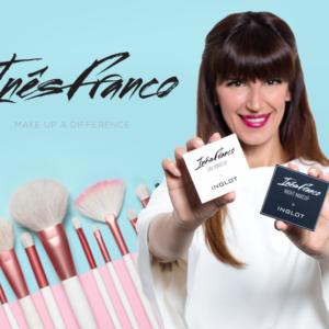 Inês Franco Inglot maquilhagem