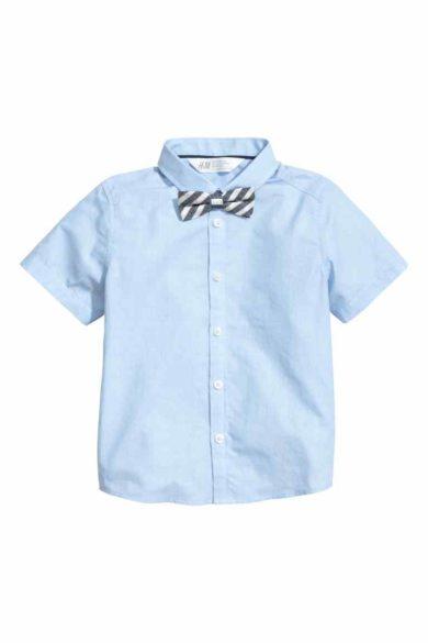 2B.camisa menino HM 12,99