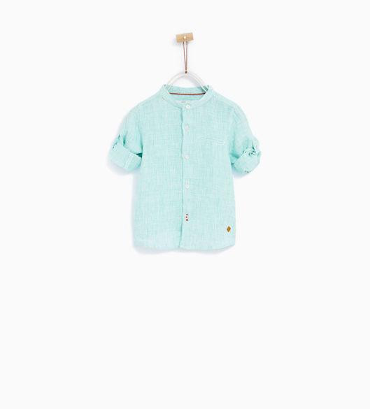 3.camisa menino ZARA 15,95