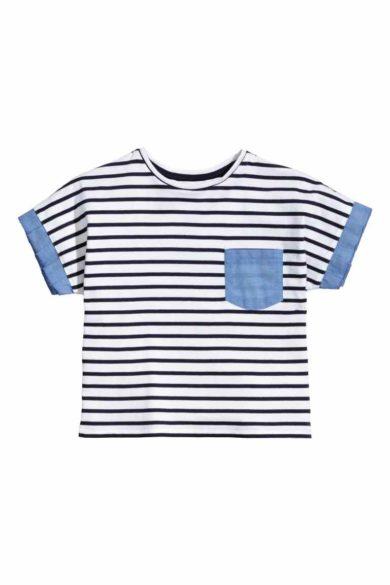 4B.t-shirt criança HM 9,99