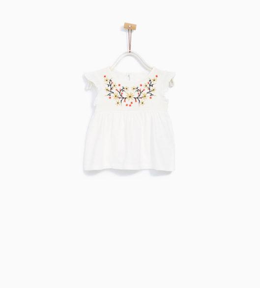 5.blusa menina ZARA 9,95