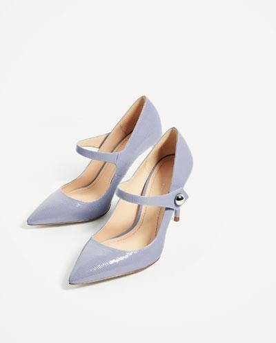 Sapatos Zara, antes a 29,95€ e agora a 15,99€
