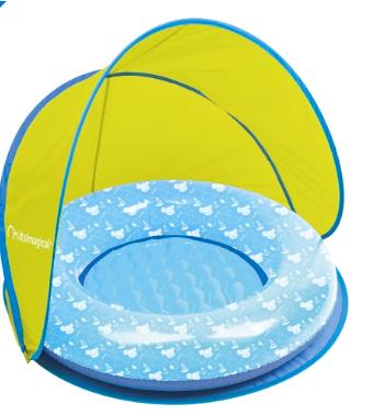 Piscina para bebé com guarda sol, 20,97€, Imaginarium