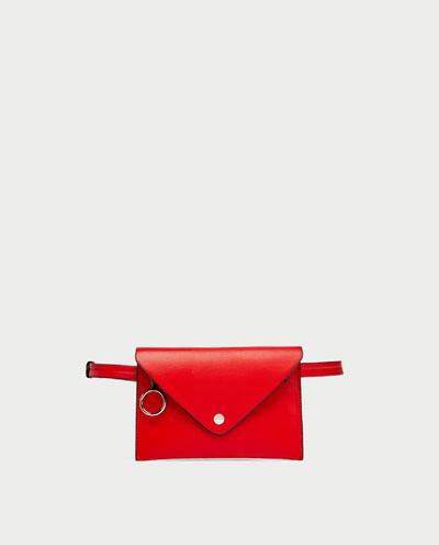 Bolsa de cintura Zara, 19,95€