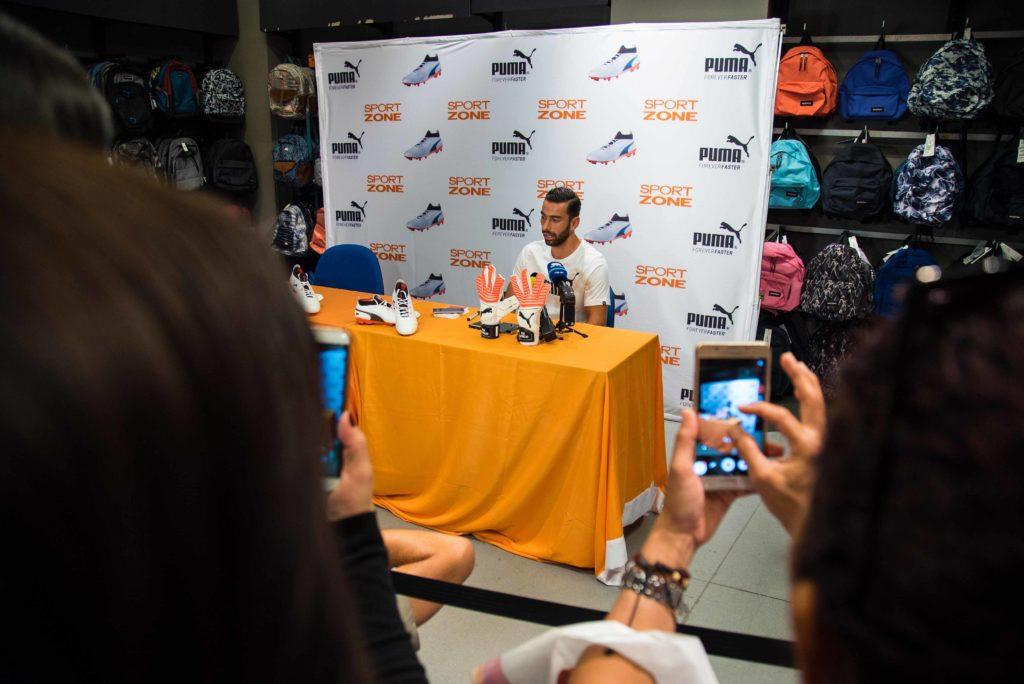 Rui Patrício apresenta PUMA ONE na Sport Zone