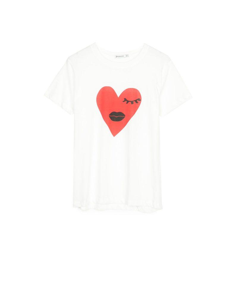 T-shirt Stradivarius, 4,95€
